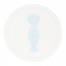 sluitzegel 574106 blauw
