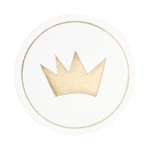 sluitzegel goud kroon