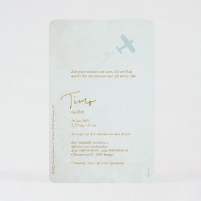 geboortekaartjes voor jongen bestellen 581016