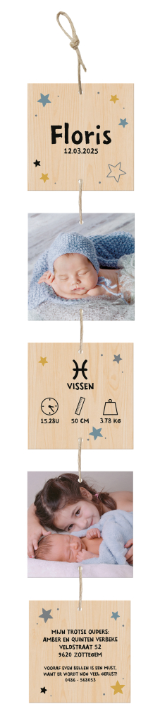 geboortekaartje bestellen 610028